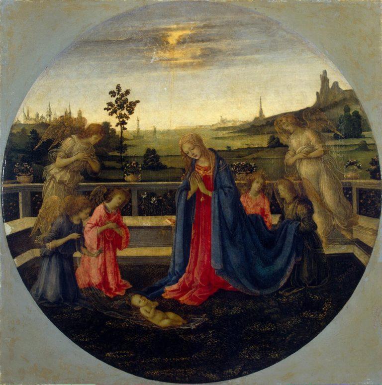 Adoration | Lippi Filippino | oil painting
