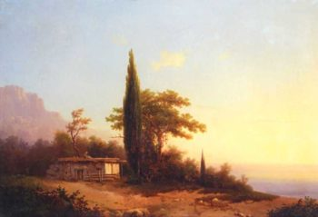 View on Crimea | Ivan Aivazovsky | oil painting