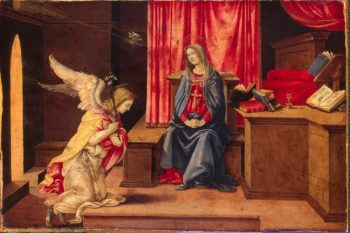 Annunciation | Lippi Filippino | oil painting