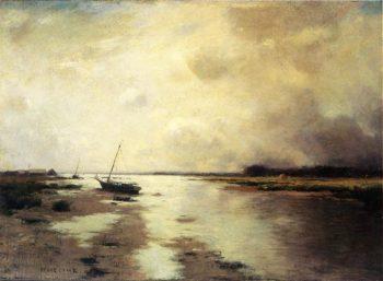 Long Island Landscape | Bruce Crane | oil painting