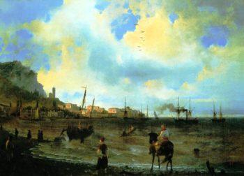Yalta | Ivan Aivazovsky | oil painting