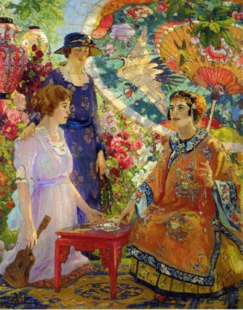 Fortune Teller | Colin Campbell Cooper | oil painting
