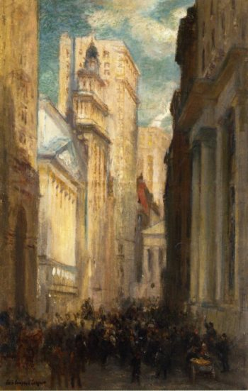 Wall Street | Colin Campbell Cooper | oil painting