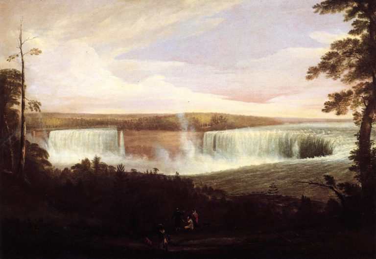 View of Niagara Falls View 2 | Alvan Fisher | oil painting