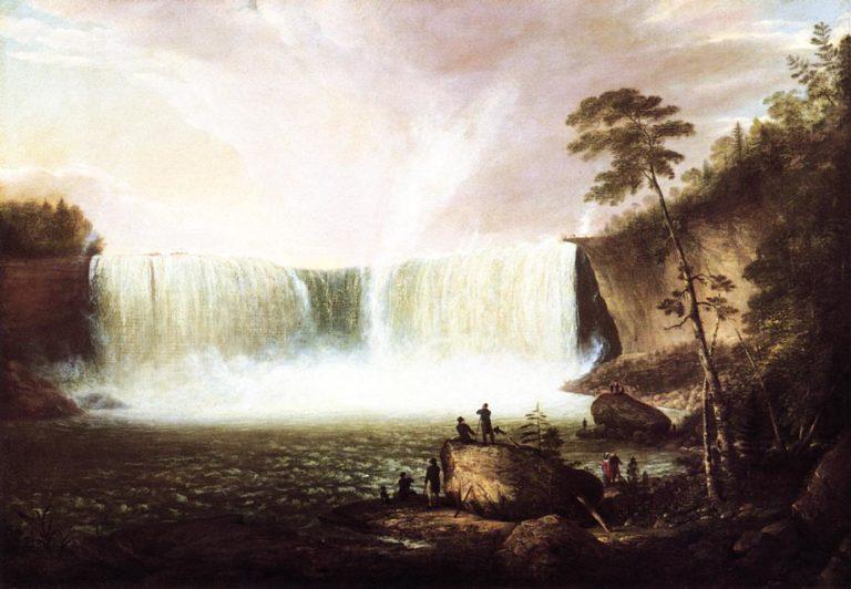 View of Niagara Falls | Alvan Fisher | oil painting