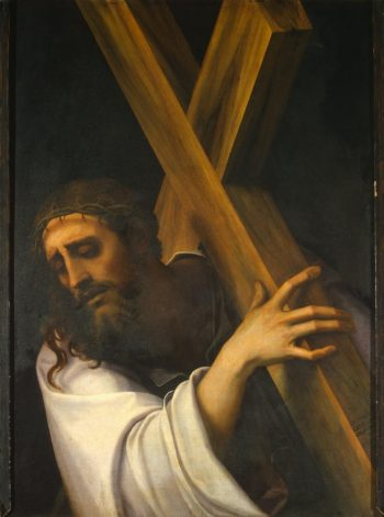 Carrying of the Cross | Luciani Sebastiano (Sebastiano del Piombo) | oil painting