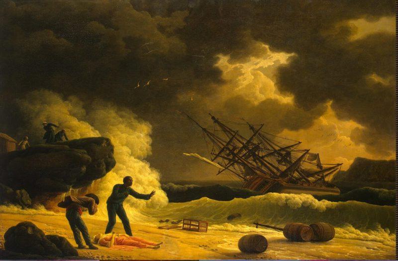 Death of Virginia | Vernet Claude Joseph | oil painting
