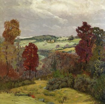 Autumn in New England | Ben Foster | oil painting