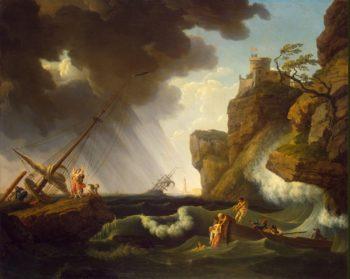 Shipwreck | Vernet Claude Joseph | oil painting