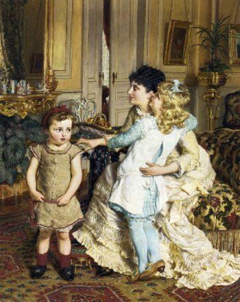 Motherly Love | Edgard Pieter Josef Farasyn | oil painting