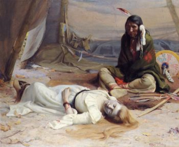 The Captive | E Irving Couse | oil painting