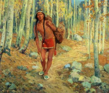 The Successful Hunter | E Irving Couse | oil painting