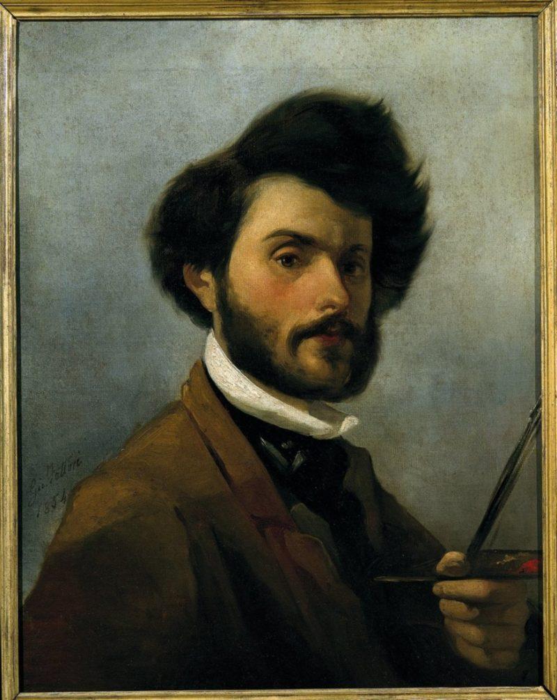 Autoritratto | Giovanni Fattori | oil painting