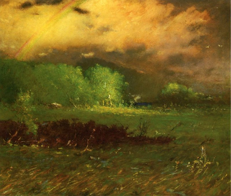 Storm Breaking Up | Elliott Dangerfield | oil painting