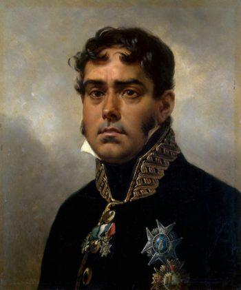 Portrait of General Pablo Morillo | Vernet Horace | oil painting