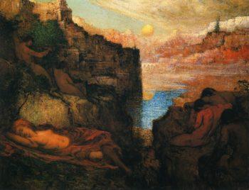 The Sleepers | Elliott Dangerfield | oil painting