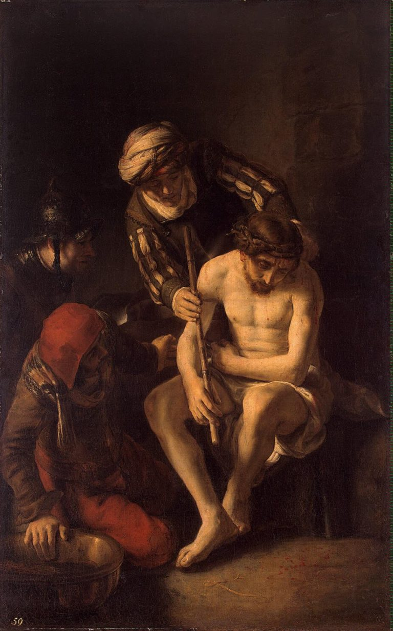 Mocking of Christ | Maes Nicolaes | oil painting