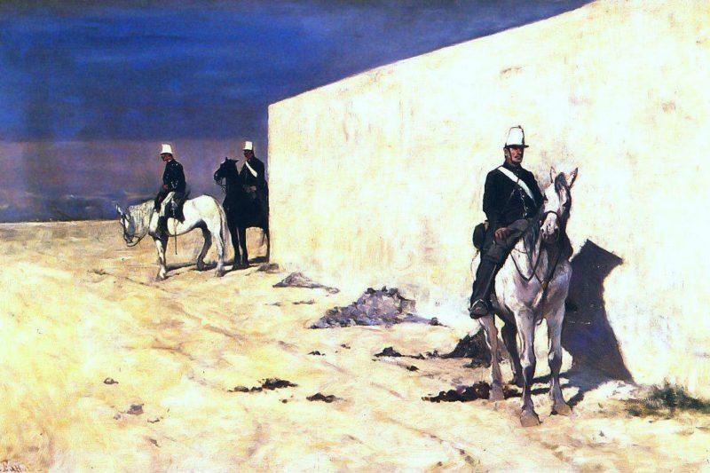 In vedetta | Giovanni Fattori | oil painting
