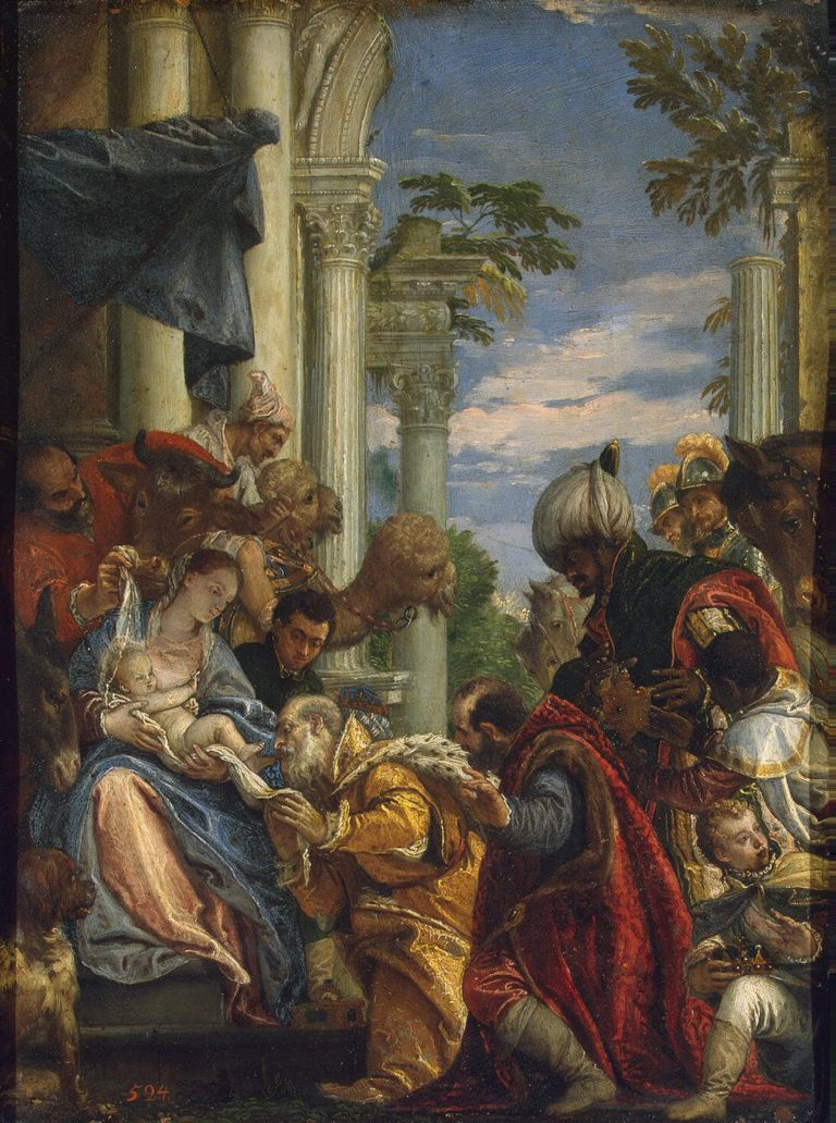 Adoration of the Magi | Veronese Paolo (Paolo Caliari) | oil painting