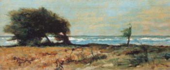 Libecciata | Giovanni Fattori | oil painting
