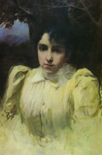 Mujer del pintor | Fernando Cabrera Canto | oil painting