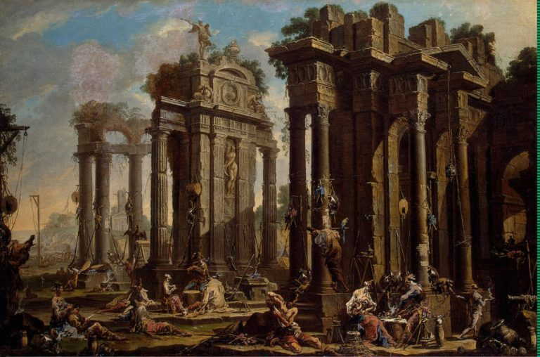 Banditti at Rest | Magnasco Alessandro (Lissandrino) | oil painting