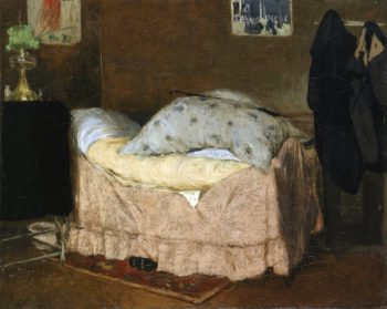 The Pink Bed | Henri Jacques Evenepoel | oil painting