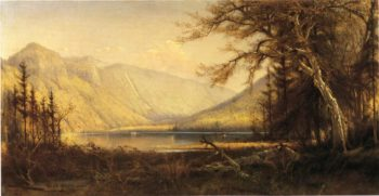 Boating in the Adirondacks | Henry A Ferguson | oil painting