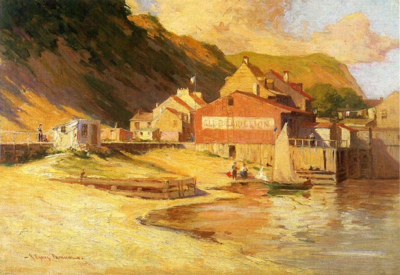 Club Carollion | Herbert Cyrus Farnum | oil painting