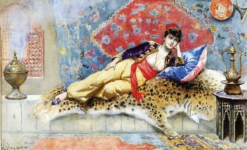 The Favorite | Jean Leon Gerome Ferris | oil painting