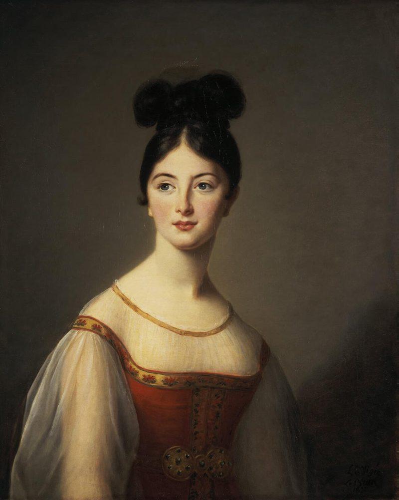 Portrait of a Woman | Vigee Le Brun Elisabeth-Louise | oil painting