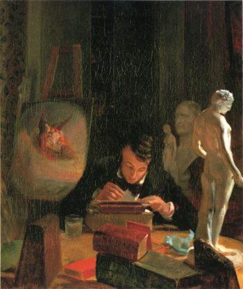 Godfrey Frankenstein | John Peter Frankenstein | oil painting