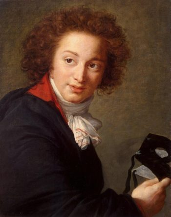 Portrait of Count Grigory Chernyshev with a Mask in His Hand | Vigee Le Brun Elisabeth-Louise | oil painting