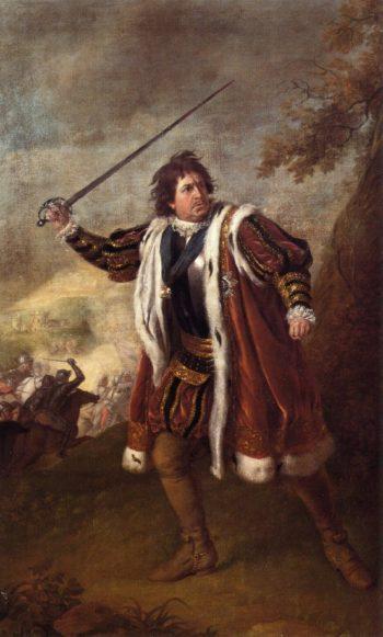 Portrait of David Garrick as Richard III   Nathaniel Dance   oil painting