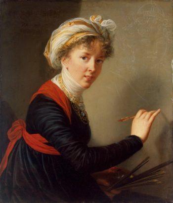 Self-Portrait   Vigee Le Brun Elisabeth-Louise   oil painting