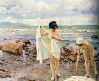 The Bathers | Paul Gustave Fischer | oil painting