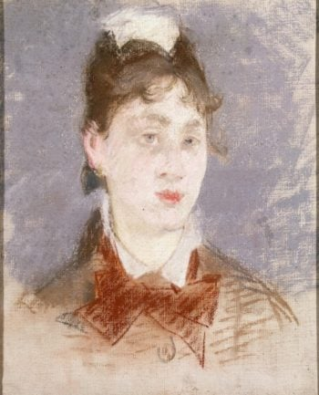 Girl in a Wing Collar   Manet Edouard   oil painting