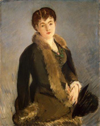 Portrait of Mademoiselle Isabelle Lemonnier | Manet Edouard | oil painting