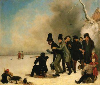 Turkey Shooting | Charles Deas | oil painting