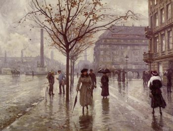 Vesterbrogade | Paul Gustave Fischer | oil painting