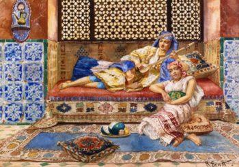 Harem Solg | Rudolph Ernst | oil painting