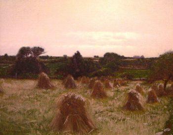 Haystacks Thompson Conn | Charles Warren Eaton | oil painting
