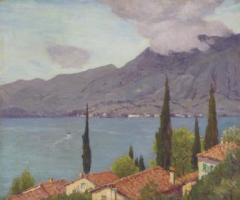 Lake Como | Charles Warren Eaton | oil painting