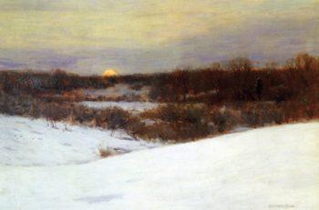 Winter Sunrise | Charles Warren Eaton | oil painting