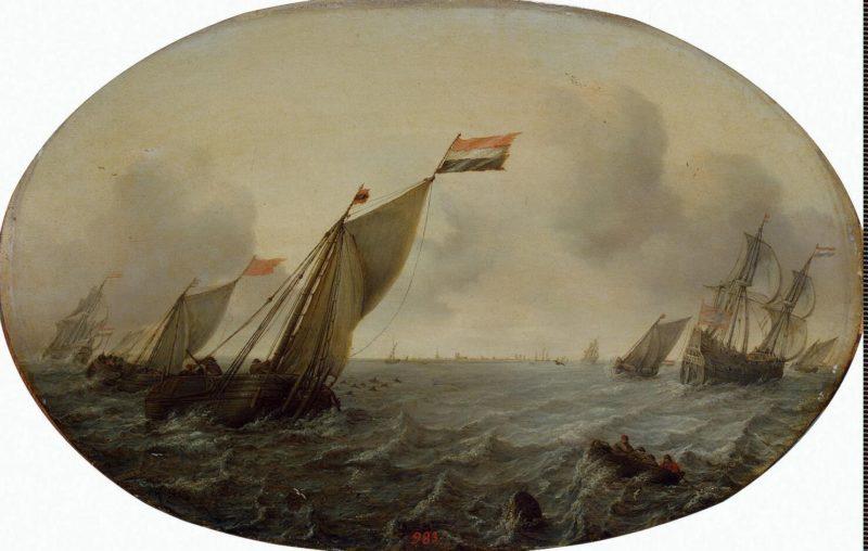 Seascape | Vlieger Simon de | oil painting