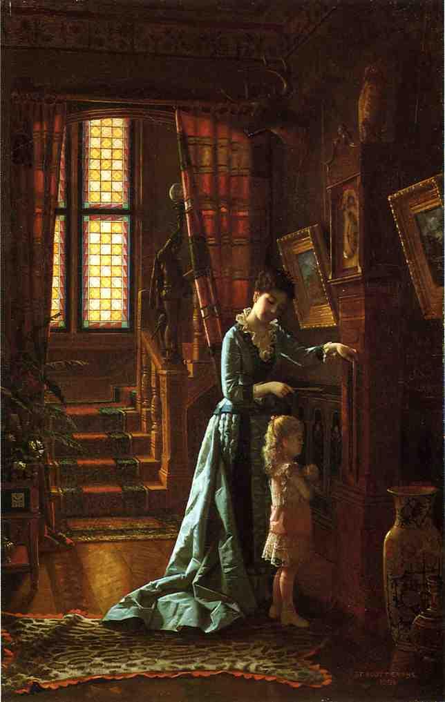 Grandfathers Clock | De Scott Evans | oil painting