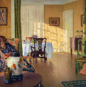 Sunlit Interior | William Howe Foote | oil painting