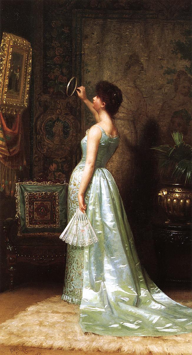 The Connoisseur | De Scott Evans | oil painting