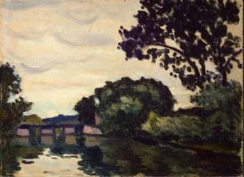 Landscape with a Bridge | Marquet Albert | oil painting