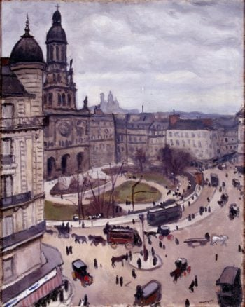 Place de la Trinity in Paris | Marquet Albert | oil painting